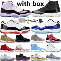 2021 Yeni Yüksek OG Top 11 11s Jumpman Erkek Basketbol Ayakkabı Düşük 25. Yıl Concord 45 Ovo Bred Kadınlar Spor Sneakers Boyut 36-47