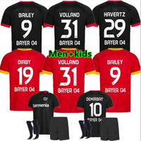20/21 Leverkusen Fussball Jersey L.Bender 20/21 Bayer 04 Leverkusen Havertz Jersey Demirbay Alario Volland Football Shirt