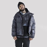 Vente chaude 20fw Night View Classic Capuche à capuche Hiver Hiver Chaud Mode Manteaux coupe-vent Down Jacket High Street Outwear Outwear