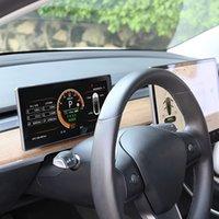 Tesla Model 3ダッシュボードゲージクラスタパフォーマンスパフォーマンスデジタルLCDディスプレイスピードメーターアフターマーケットオートソーナス