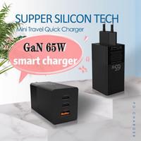 USB C-Ladegerät 65W Leistungserbringung 3.0 mit MOSFET (Super-Silicon) Tech USB-C-Versorgung für Smartphone usw