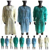 غير المنسوجة الملابس الواقية المتاح العزلة العباءات الملابس الدعاوى المضادة للغبار ملابس واقية في الهواء الطلق المتاح المعاطف RRA3742