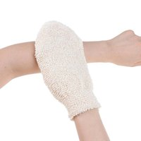 New Bath Gloves Exfoliating Skin Wash Foam Towel Massage Shower Scrubber Hemp Body Cleaning Towel Sponges 1pc