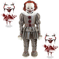 Men' s IT Movie Chapter 2 Adult Pennywise Deluxe Costume...