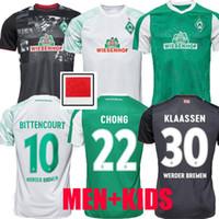 2020 2021 SV Werder Brema Soccer Jerseys Bargfrede Kruse Pizarro Klaassen 20 21 Casa Away Away 3rd Camicia da calcio