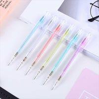 1 stück 0,5mm Transpanret Bunte Mechanische Bleistift Kunststoff Automatische Bleistifte Kawaii Schule Schreibwaren Büro Schreibvorräte1