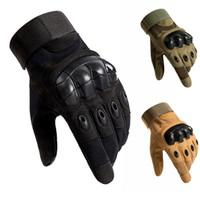 Armee Militär Taktische Handschuhe Paintball Airsoft Jagd Schießen Outdoor Reiten Fitness Wandern Fingerlose / Fingerhandschuhe