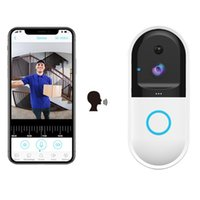 Türklingel Professionelle Sicherheit Niedrig Power Smart Wifi Video-Türklingelkamera Visuelle Gegensprechanlage mit Nachtsicht für Zuhause