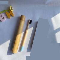 Diş Fırçası Kutusu Tutucu Bambu Tüp Kutusu Kılıfı Banyo Aksesuarları Ahşap Seyahat Otel Malzemeleri Taşınabilir Açık Havada Yeni 5 2XL C2