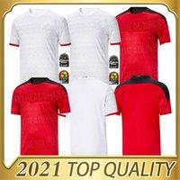 2020 2021 Egitto Casa Away Soccer Jersey M. Salah 20 21 Kahraba A. Hegazi Ramadan M.Elneny Uniformi Jerseys Camicia calcio