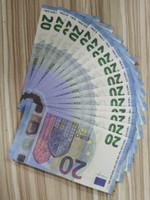 Preis 05 Euro Banknote Fake 10/20/50 Gold Banknote Kopie / 100/200 / 500 Geldpapier Taschen Prop Heißbanknote Verkauf Euro CJCPA