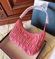 حقيبة الكتف مطوي على حقيبة الصدر سيدة حمل سلاسل حقائب اليد pressbyop