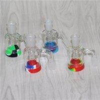 14mm 18 mm Recuperación de captadores Adaptadores de aceite masculino Reclamador de aceite Fumar cenizas de vidrio Catcher Adaptador desplegable para plataformas Bongs Collectores de néctar