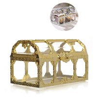 Creativity Treasure Chest Jewelry Boxes Mini Wedding Candy G...