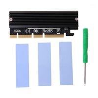 NUOVA PCI Express 3.0 x16 a PCIe BASE ADME AHCI SCHEDA SCHEDA ADAPTER con dissipatore di calore1