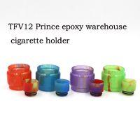 TFV12 Prince TFV8 810 Punta de goteo Tip con punta de goteo de resina epoxi para fumar TFV8 BRANDE BEBÉ