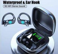 Mode Luxus Ohrhaken MD03 Tws Touch Bluetooth Sport Kopfhörer Headset Wireless Ohrhörer vs F9 B10 Buds Live für Smartphone Samsung