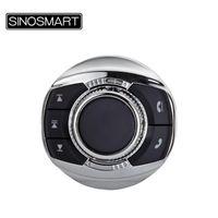 SINOSMART Tasti telecomando Tasti SWC w sterzo / LED astuto universale della rotella di automobile Controller wireless per la navigazione GPS Player