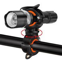 Hot Mountain Bicycle Poderosa LED Luz Clipe Road Bike Lampbar Lamp Titular Bomba de Ar Bracket MTB Ciclismo Acessórios