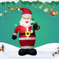 Merry Christmas Inflatable Santa Clause Snowman Tree New Yea...