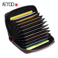 HBP AETOO натуральная кожаная сумка вкладки карт карт пакет свитер карты мешок много карты головы слой кожаный кошелек кошелек винтажный кошелек