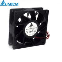 Refriginaciones de ventiladores 2 unids y originales PFB1224uhe 120 mm 24V 2.40A Inversor Ventilador de refrigeración Violencia para Delta 120 * 38mm1