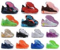 2021 جديد داميان ليلارد السابع من جلد الغزال 7s سمة 7 كرة السلة أحذية رجالي أحذية رياضية سيدة 7 المدربين أحذية رياضية 40-46