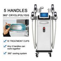 Cryolipolysis жира замораживания машина двойного подбородка машина для похудения тела удаления липо потери жира Устройство для салонов