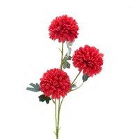 65cm Chrysantheme Seide Künstliche Blume Blumenstrauß 3 Köpfe Gefälschte Blume Dekorieren für Home Hochzeit Dekoration1