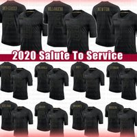 Saudação para Serviço 2020 Novos Mahomes Juju Smith-Schuster 90 T.J. Watt Alejandro Villanueva Cam Newton Julian Edelman Baker Mayfield Jacket