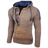 Sweaters pour hommes Muyogrt Hommes Vintage Tricot Tirez Homme Pulls décontractés Homme Outwear Slim Slim Solid Jumper Solide Hiver Chaud Turtleneck Pull