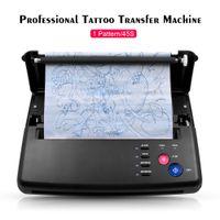 Transferencia nueva máquina de tatuaje Plantillas copiadora dispositivo de impresión Herramientas de dibujo térmicos para el tatuaje Fotos de transferencia de papel de copia Impresión