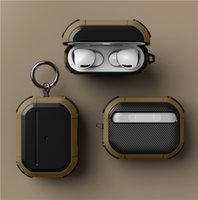 이어폰 보호 케이스 에어 포드 프로 이어폰 Shockproof Protector 커버 소매 패키지와 카라비너와 함께