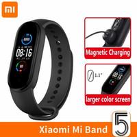Xiaomi MI Band 5 Bracelets intelligents Bracelet AMOLED Écran Miband 5 Smartband Fitness Traker Bluetooth Sport Sport Étanche Smart Band