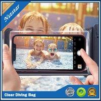 Bolsas de bolsa a prueba de polvo a prueba de polvo a prueba de polvo universales para teléfono sellado de teléfono a prueba de agua para teléfonos móviles con brazalete