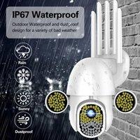 Casa Safe172 LEDS 1080p Cámara HD Security WiFi CCTV PTZ IR SPEED AUTORIA AUTORIZADA A prueba de agua WiFi Cámara de consumo Camcorders1
