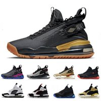 Venta marca negro goma aeroespacial proto masculino zapatos de baloncesto metálico plata oro criado orca lyrical limonada hombres entrenadores deportes zapatillas 7-12