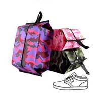 Travel Camouflage Shoes Bags Sport Shoes Dustproof Top-handle Bag Clothes Zipper Pouch Storage Organizer Accessories Supplies