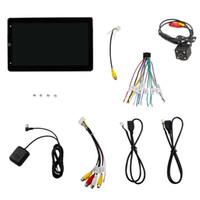 Car Audio 10.1inch Radio Android 10 Girar GPS Estéreo Navi MP5 Player WiFi FM BT 1G + 16GB