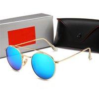 Red Fashion Sport Sunglasses para homens 2021 unisex buffalo chifre óculos homens mulheres sem aro óculos de sol ouro moldura de metal óculos lunettes