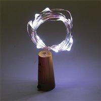 1m 2m 3m-String-Licht RGB-LED-Blitz Cork geformte LED Kupferdraht Lichterkett Weinflasche Lampen Wasserdichte LED-Lichterketten