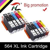 HTL 564XL Cartuccia d'inchiostro per 564xl 564 Compatibile per Photosmart B8550 C6324 C310A C410 6510 D5460 7510 B209A 4610 3070A1