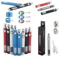 510 Thread Battery Vapes Pen Ugo V3 Rechargeable batteries Preheating Vapes Cartridge Adjust Voltage 650mah USB Charger Packaging Instock