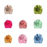 حر dhl 18 ألوان لطيف كبير القوس هيرباند القبعات طفل أطفال طفل مرن قبعات عباد الشمس العمامة رئيس يلتف القوس عقدة اكسسوارات للشعر 538 k2