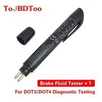 OBD2 جودة النفط دقيقة تحقق القلم 5 led الفرامل السائل تستر سيارة الفرامل السائل اختبار الرقمية للسيارة السيارات اختبار السيارات أداة 1