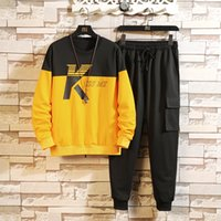 2020 Autumn Spring Tracksuits Men' s Sport Set Hoodies S...