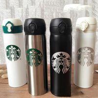 6 stili di vuoto tazza termo tazza di caffè della bottiglia di acqua di corsa protable logo personalizzato regalo di nozze di Natale moda starbucks