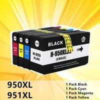 خراطيش الحبر 4PK استبدال خرطوشة متوافق 950 951 XL ل OfficeJet Pro 8100 8600 8610 8620 8630 251DW 276DW 8650 طابعة