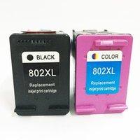 Mürekkep Kartuşları Einkshop 802XL Değiştirme Mürekkep Püskürtmeli Baskı Kartuşu 802 XL Deskjet 1000 1010 1050 1510 1511 2000 2050 3050 4500 Printer1