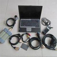Новый прибыл! MB Star C3 с Software Super SSD с ноутбуком D630 Полный набор диагностический инструмент готов к использованию MB Star C3 мультиплексор1